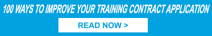 100 Ways to Improve your Training Contract Application