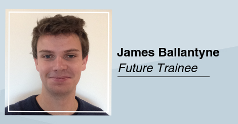 5 minutes with James Ballantyne, future trainee