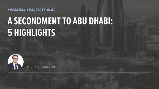 Abu Dhabi Secondment