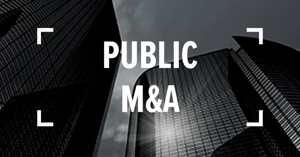Public M&A