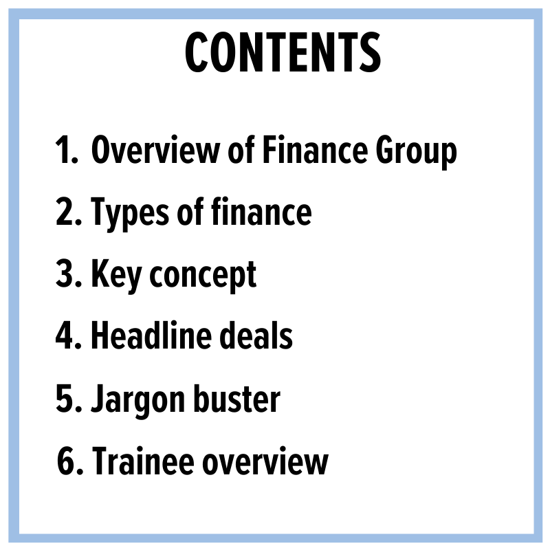 Overview of Finance