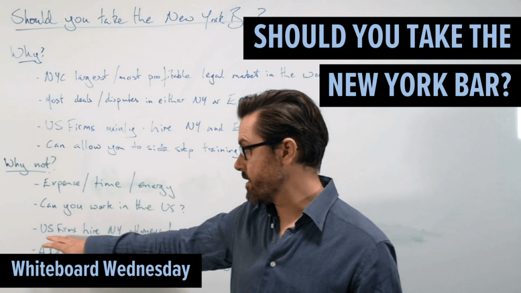 Should you take the New York Bar?
